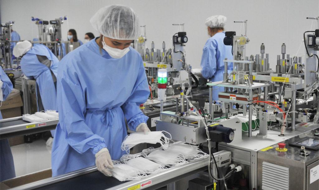 Mascarillas quirúrgicas de calidad de fabricación nacional y con todos los requisitos de la Mascarillas quirúrgicas y equipos de protección de fabricación nacional con todos los requisitos de la Agencia Española del Medicamento y Producto Sanitario.